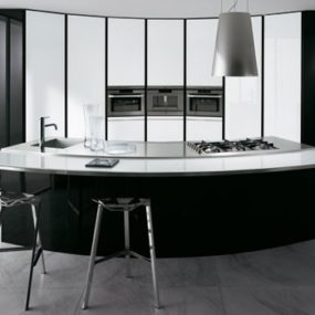 Curved Kitchen Designs – curved kitchen islands, curved cabinets by Ernestomeda