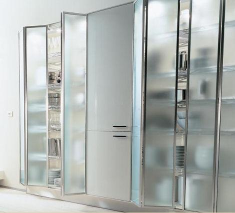 ernestomeda verve kitchen frameless door Modern European Kitchens   the 7 trendy kitchen designs from Ernestomeda, Italy