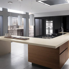 New Electra Walnut Kitchen from Ernestomeda