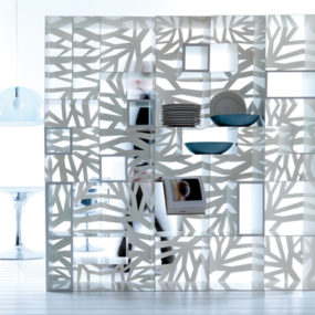 Perforated Furniture in Contemporary Style – Domino by Esedra