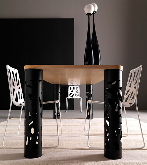 esedra perforated furniture collection domino 9 jpg. Perforated Furniture in Contemporary Style   Domino by Esedra