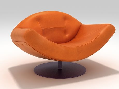 etelinteriores armchair gaivota 1 Contemporary Leather Armchair by Etel Interiors