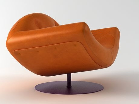 etelinteriores armchair gaivota 2 Contemporary Leather Armchair by Etel Interiors