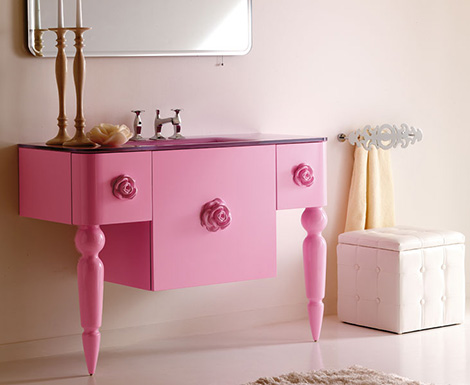 eurolegno bathroom furniture amarcord 1 Retro Modern Bathroom Furniture from Eurolegno by designer Marco Poletti – Amarcord
