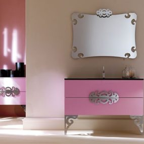 Neo Baroque Furniture for Bathroom by Eurolegno – Glamor