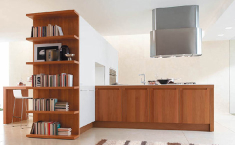 euromobil kitchen filanta 5 Contemporary Kitchen from Gruppo Euromobil – Filanta combines warm wood and strong steel elements…