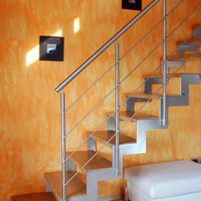 Modern Staircase from Europa Stairways – the Storey stairs model