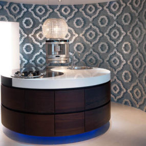 Evitavonni Yin Yang Kitchen will bring the stunning contrast of darkness and light to your kitchen…