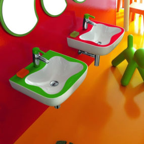 Exciting Bathrooms for Children by Laufen