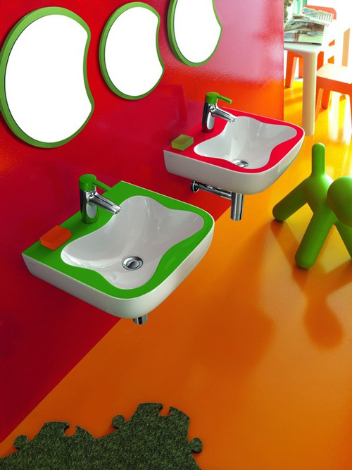 exciting bathrooms children laufen 1 Exciting Bathrooms for Children by Laufen