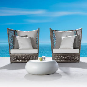 Luxury Outdoor Seating – new luxury seating set Tunis by Expormim