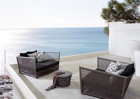 Outdoor Seating Set Tunis By Expormim