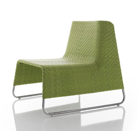 Modern patio chairs and lounge chairs air chair from for Terrace chairs