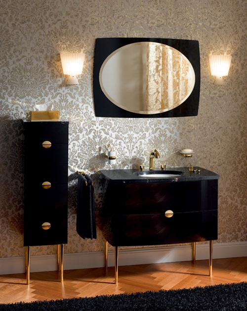 exquisite bathroom vanities keuco edition palais de luxe 1 exquisite bathroom vanities by keuco edition palais - Bathroom Cabinets Keuco