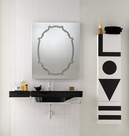 ext black white bathrooms 5 Black and White Bathrooms   bathroom sets and design ideas by Ex.t
