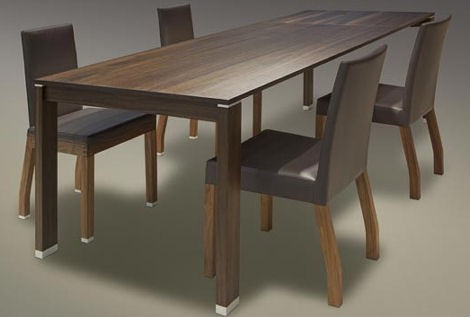 extendable table mando schulte design