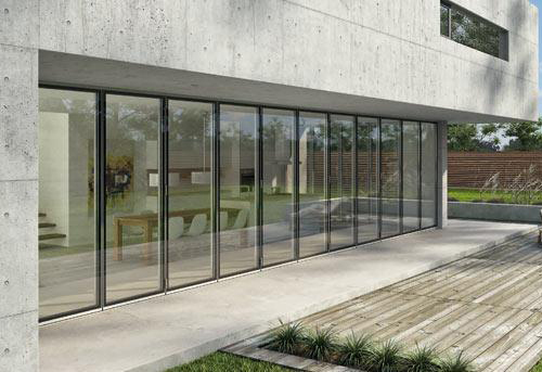 Exterior folding glass doors by solarlux planetlyrics Image collections