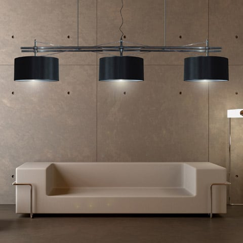 Extra Large Lamps by LM Studio: floor and suspension