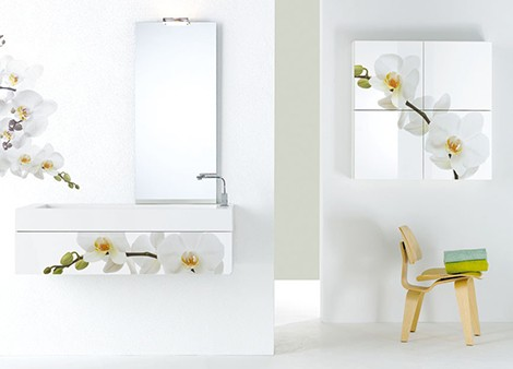 f lli branchetti bathroom furniture white flowers 1