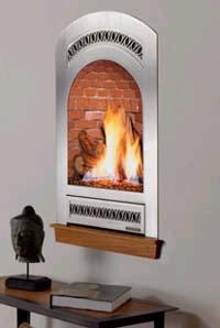 Bed and Breakfast fireplace from Fireplace Xtrordinair – the portrait-style gas fireplace