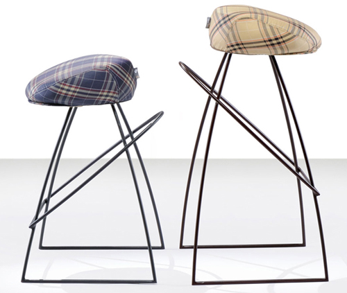 fabio vinella stool picciotto 1 Cool Bar Stools by Fabio Vinella