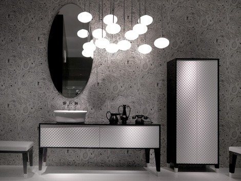 falper bathroom collection coco 1 Designer Bathroom Furniture from Falper   Coco collection