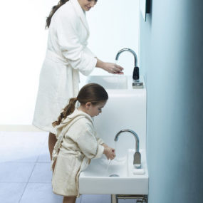 Fashionable function in the bathroom: Family Basin by VitrA