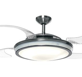 High Performance Ceiling Fans with Lights – retractable fans by Fanaway