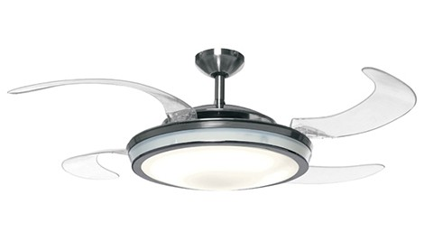 fan with light. high performance ceiling fans with lights \u2013 retractable by fanaway fan light