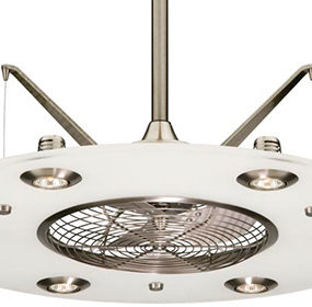 Futuristic Ceiling Fan from Fanimation – new Cumulos fan is a kitchen must-have!