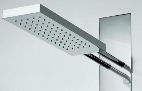 fantini acquatonica showerhead Acquatonica shower by Fantini Rubinetti   beauty of minimalism