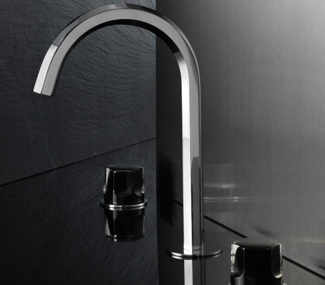 fantini faucet venice 1 Glass Bath Faucet from Fantini   Venice (Venezia) by Matteo Thun