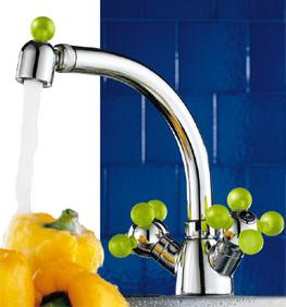 Girotondo kitchen mixer from Fantini
