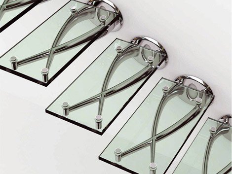 faraone stairs twin 1 Self Supporting Glass Staircase by Faraone