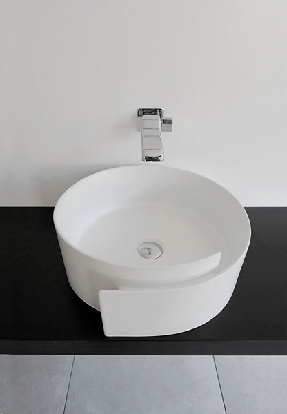 fashionable bathroom sink flaminia roll 1 Fashionable Bathroom Sink by Flaminia – Roll