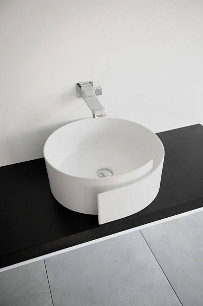 fashionable bathroom sink flaminia roll 2 Fashionable Bathroom Sink by Flaminia – Roll