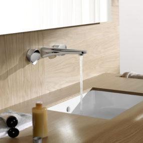 Simple Wall Mount Faucet by Dornbracht