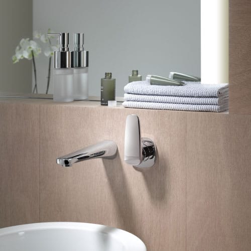 faucet dornbracht gentle 2 Simple Wall Mount Faucet by Dornbracht