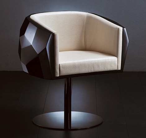 fendi casa chair crystal 1 Fendi Casa Crystal Chair   a Modern Gem
