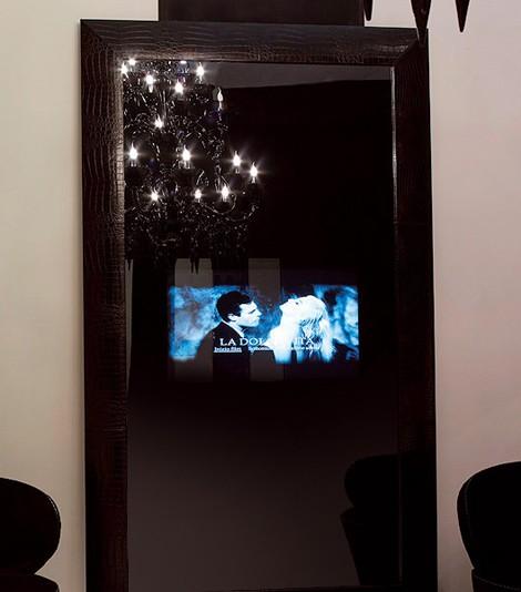 fendi casa luxury tv mirror combo Luxury TV Mirror Combo from Fendi Casa Collection