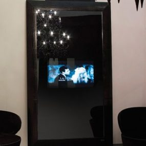 Luxury TV Mirror Combo from Fendi Casa Collection
