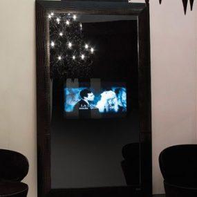 Luxury TV Mirror Combo from Fendi Casa Collection