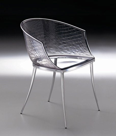 fiam chair dandy 2 Clear Glass Chairs by Fiam are Dandy