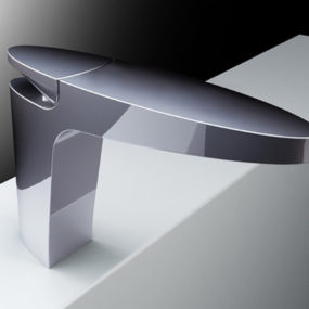 Elegant Minimalist Bathroom Faucet by Fima Carlo Frattini – new Eclipse