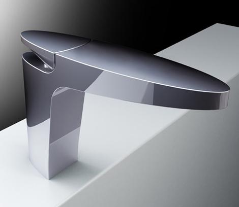 Elegant Minimalist Bathroom Faucet by Fima Carlo Frattini – new Eclipse