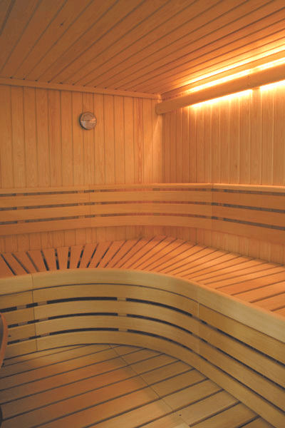 finnleo luxury sauna Custom Sauna from Finnleo   luxury sauna with Grande Interior