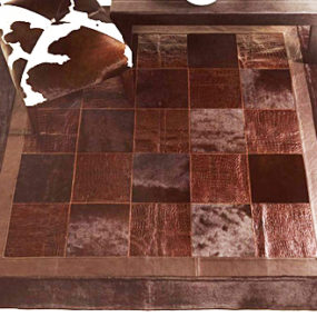 Chocolate Brown Rug by Fiorentino – Quadro