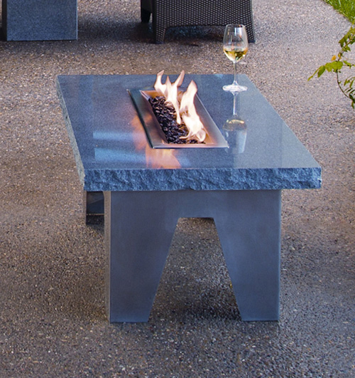 fire table vesta stone forest 2 Granite Fire Table by Stone Forest