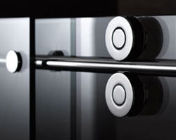 fleurco kinetik hardware Shower Door Hardware for Fleurco Shower Doors   the new Kinetik hardware systems
