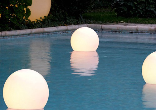 floating sphere light slide 1 Floating Sphere Light by Slide   Globo